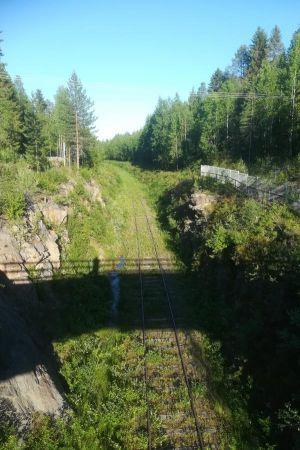 Vanhan kaivoksen vihreä rata